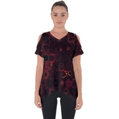 Psychedelic Lights 4 Cut Out Side Drop Tee