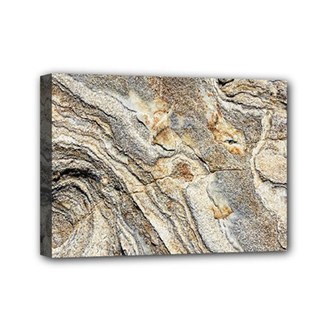 Background Structure Abstract Grain Marble Texture Mini Canvas 7  X 5