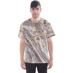 Background Structure Abstract Grain Marble Texture Men s Sports Mesh Tee