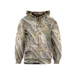 Background Structure Abstract Grain Marble Texture Kids  Zipper Hoodie