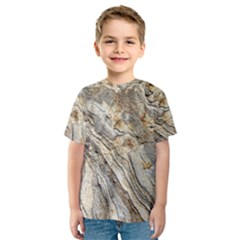 Background Structure Abstract Grain Marble Texture Kids  Sport Mesh Tee