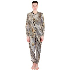 Background Structure Abstract Grain Marble Texture Onepiece Jumpsuit (ladies)