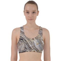 Background Structure Abstract Grain Marble Texture Back Weave Sports Bra