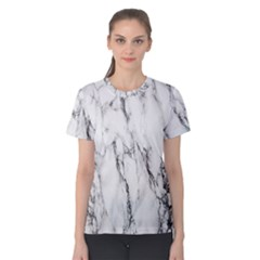 Marble Granite Pattern And Texture Women s Cotton Tee