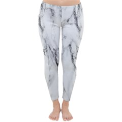 Marble Granite Pattern And Texture Classic Winter Leggings