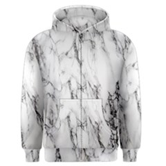Marble Granite Pattern And Texture Men s Zipper Hoodie