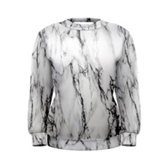 Marble Granite Pattern And Texture Women s Sweatshirt