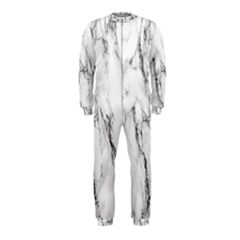 Marble Granite Pattern And Texture Onepiece Jumpsuit (kids)