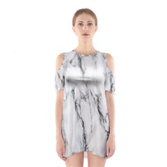 Marble Granite Pattern And Texture Shoulder Cutout One Piece