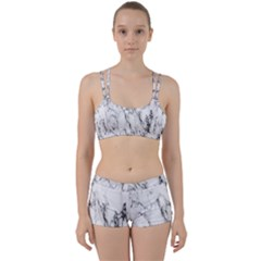 Marble Granite Pattern And Texture Women s Sports Set