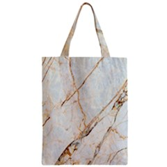 Marble Texture White Pattern Surface Effect Classic Tote Bag