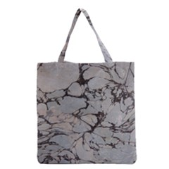 Slate Marble Texture Grocery Tote Bag