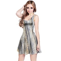 Texture Structure Marble Surface Background Reversible Sleeveless Dress