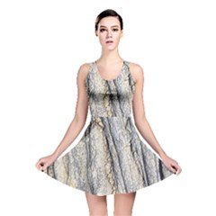 Texture Structure Marble Surface Background Reversible Skater Dress