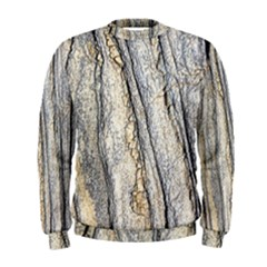 Texture Structure Marble Surface Background Men s Sweatshirt