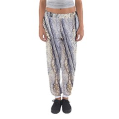 Texture Structure Marble Surface Background Women s Jogger Sweatpants