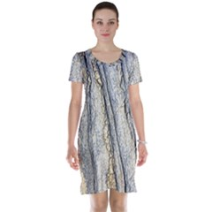 Texture Structure Marble Surface Background Short Sleeve Nightdress