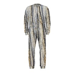 Texture Structure Marble Surface Background Onepiece Jumpsuit (kids)