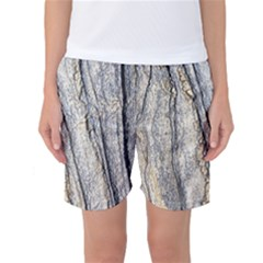 Texture Structure Marble Surface Background Women s Basketball Shorts