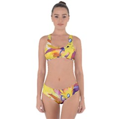 Spitfire Stream Wall  Criss Cross Bikini Set