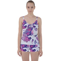 Sweetie Belle Stream Wall  Tie Front Two Piece Tankini