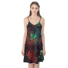 Chrys Stream Wall  Camis Nightgown