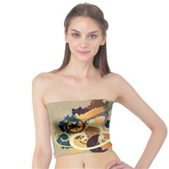 Dr Hooves Stream Wall  Tube Top