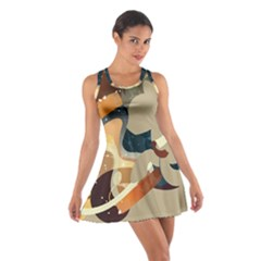 Dr Hooves Stream Wall  Cotton Racerback Dress