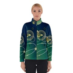 Butterfly Pattern Circles  Winterwear
