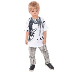 Face Paint Look  Kids Raglan Tee