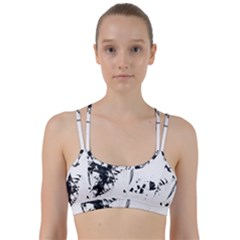 Face Paint Look  Line Them Up Sports Bra