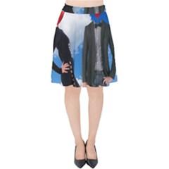 Love Velvet High Waist Skirt