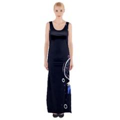 Dreamcatcher Drawing Dream  Maxi Thigh Split Dress