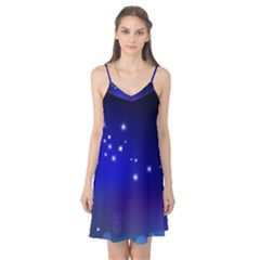 Point Way Glitter Camis Nightgown