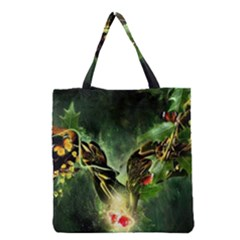 Leaves Explosion Line  Grocery Tote Bag