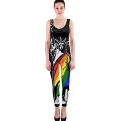 Pride Statue Of Liberty  Onepiece Catsuit