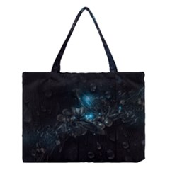 Dark Light Ball  Medium Tote Bag