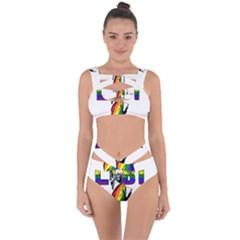 Lgbt New York Bandaged Up Bikini Set