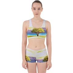Landscape Work It Out Sports Bra Set