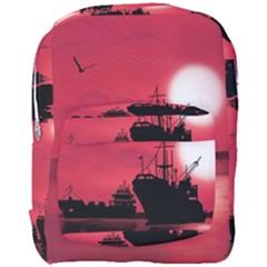 Open Sea Full Print Backpack