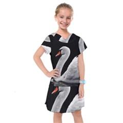 Swan Kids  Drop Waist Dress