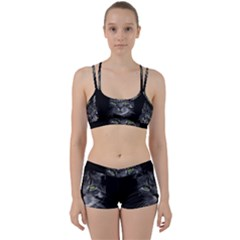 Domestic Cat Women s Sports Set