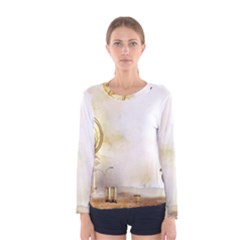 Patterns Nature Style  Women s Long Sleeve Tee