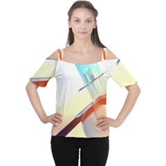 Compounds Liquid Tempering  Cutout Shoulder Tee