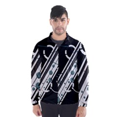 Line Pattern Light  Wind Breaker (men)