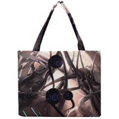 Connection Shadow Background  Mini Tote Bag