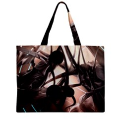 Connection Shadow Background  Zipper Mini Tote Bag