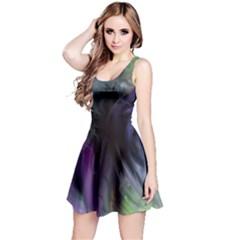 Brush Paint Light  Reversible Sleeveless Dress