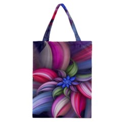 Flower Rotation Form  Classic Tote Bag