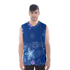 Abstraction Pattern Color  Men s Basketball Tank Top